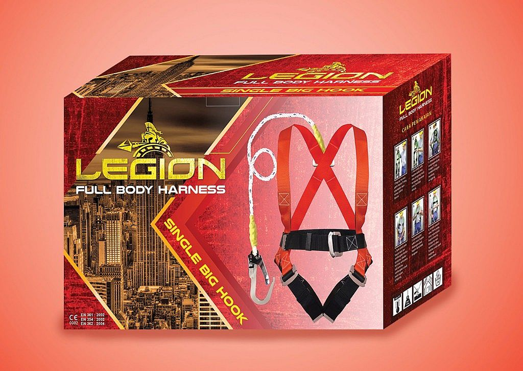BODY HARNESS SINGLE HOOK LEGION