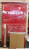 BOX HYDRANT + HOSE RACK + SELANG HYDRANT + NOZZLE